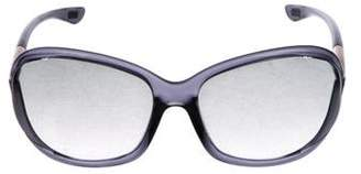 Tom Ford Gradient Oversize Sunglasses