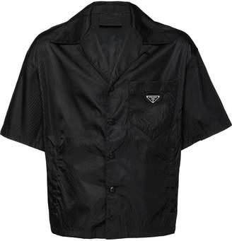 Prada logo short-sleeve shirt