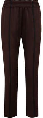 Haider Ackermann Striped Satin Slim-leg Pants
