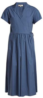 Sea Calah Cotton Midi Dress - Womens - Blue