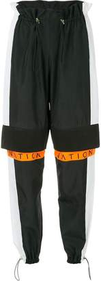 P.E Nation Rally sport trousers