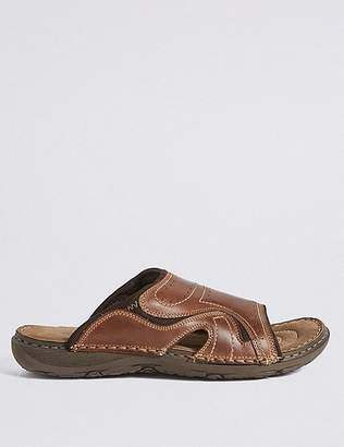 Marks and Spencer Leather Mule Slip-on Sandals