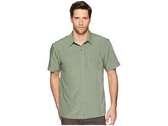 White Sierra Sandpiper Short Sleeve Shirt Men's Short Sleeve Pullover
