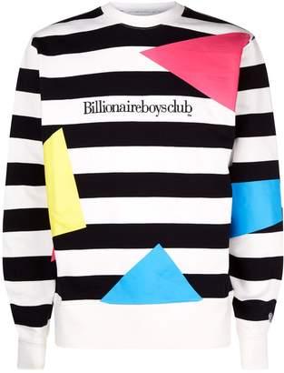 Billionaire Boys Club Geometric Stripe Sweatshirt