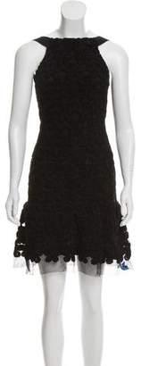 Chanel Camellia A-Line Dress