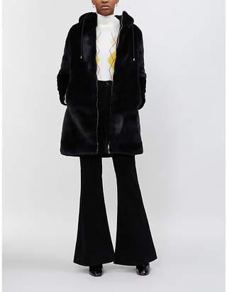 Maje Bayala faux-fur coat