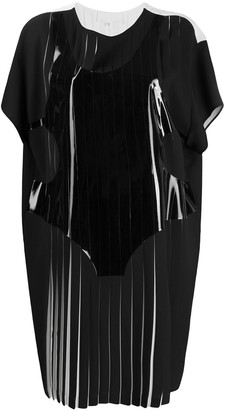Maison Margiela pleated T-shirt dress