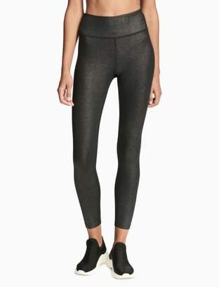 Calvin Klein high waist shimmer leggings