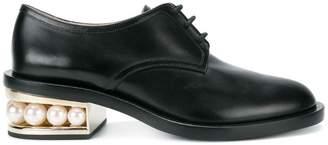 Nicholas Kirkwood Black Casati Pearl 35 derby shoes