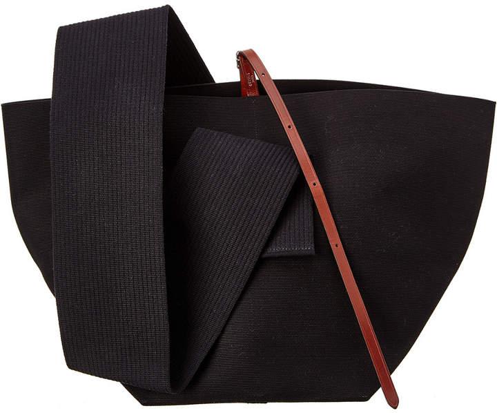 CELINE Celine Medium Canvas Belt Bag