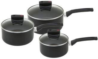 Prestige Safecook Set 3pce (16cm, 18cm & 20cm Saucepans)