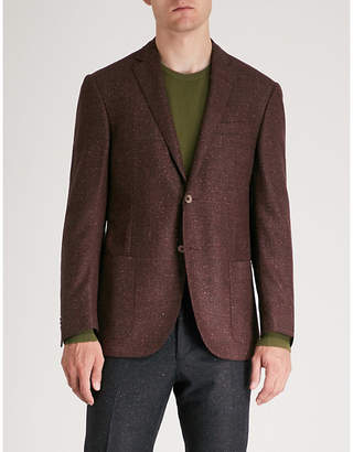 Corneliani Academy-fit wool and silk-blend jacket