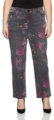 Bandolino Women's Plus Size Mandie 5 Pocket Jean