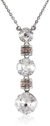 "Sorrelli Crystal "" Three-Tiered Drop Crystal Pendant"