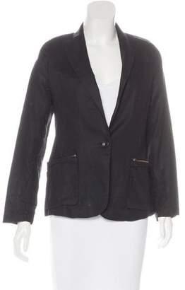 Brochu Walker Linen Peak-Lapel Blazer $95 thestylecure.com