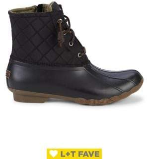 Sperry Saltwater Quilted Duck Boots
