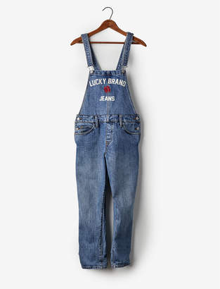 Lucky Brand Totally Lucky Boyfriend Denim Overalls