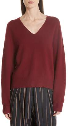 Vince Deep V-Neck Raglan Cashmere Sweater