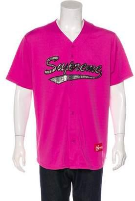 Supreme 2017 Baseball Jersey Shirt