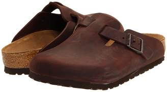 Birkenstock Boston - Oiled Leather Clog Shoes