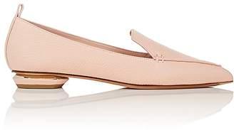 Nicholas Kirkwood Women's Beya Grained Leather Loafers