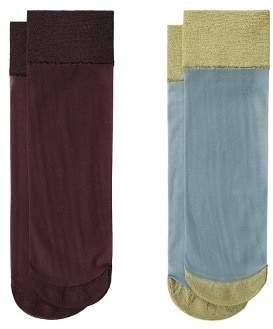 MANGO Metallic ankle socks pack