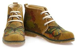 Goby Butterfly Print Chukka Boot