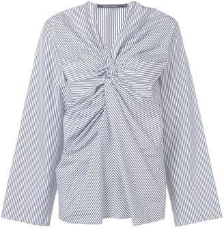 Sofie D'hoore striped knot top