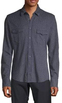 HUGO BOSS Slim-Fit Button-Down Shirt
