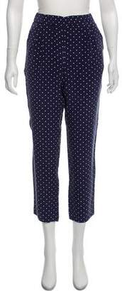 Equipment Silk Polka Dot Pants w/ Tags