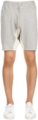 Mr.completely Cotton Sweat Shorts With Side Zip