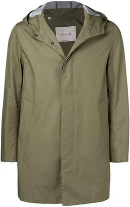 MACKINTOSH Khaki Cotton Storm System Hooded Coat
