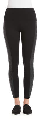 Lysse Quilted Vegan Side Panel Legging