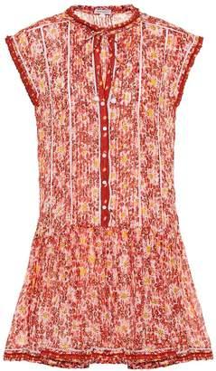 Poupette St Barth Exclusive to Mytheresa Honey printed cotton minidress