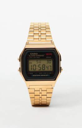 G-Shock Classic Digi Vintage Gold & Black Watch