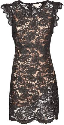 Michael Kors Corded Paisley Lace Dress