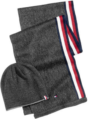 Tommy Hilfiger Men's Hat & Scarf Set