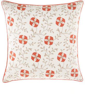 Jane Wilner Designs European Mikado Embroidered Sham