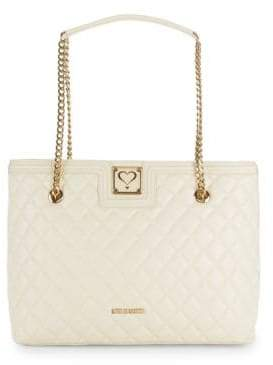 Love Moschino Quilted Chain Tote Bag