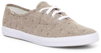 Keds Champion Canvas Doby Daisy Oxford Sneaker $50 thestylecure.com