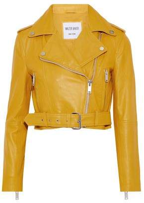 Walter W118 By Baker Shirley Leather Biker Jacket