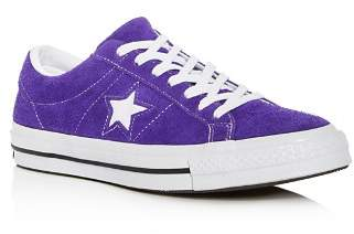 Converse Men's One Star Court Suede Lace Up Sneakers