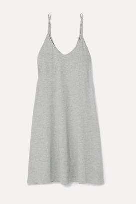 Melange Home Skin - Essentials Odelle Pima Cotton-jersey Nightdress - Gray