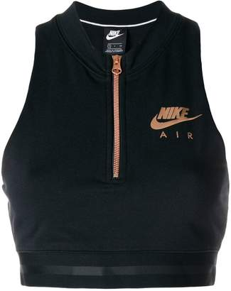 Nike cropped sports top