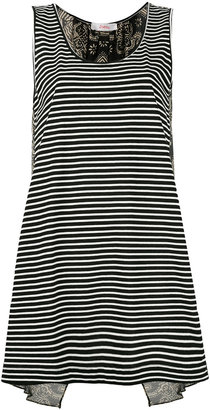 Jucca striped tank top $158.32 thestylecure.com