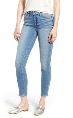Paige Hoxton Distressed Ankle Jeans