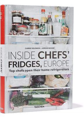 Taschen Inside Chef's Fridges Europe By Carrie Solomon And Adrian Moore Hardcover Book