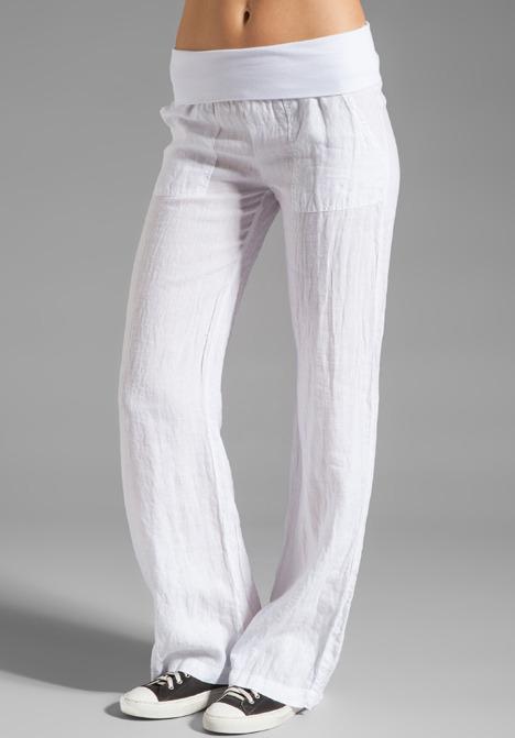 So Low Linen Pant
