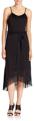 Kensie Sleeveless Fringe Midi Dress $79 thestylecure.com