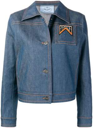 Prada slim fit denim jacket